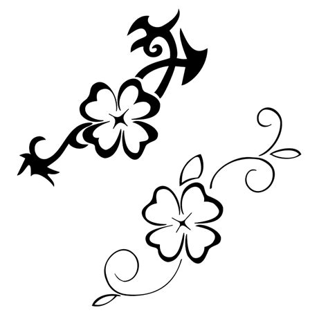 vine outline tattoo clipart best