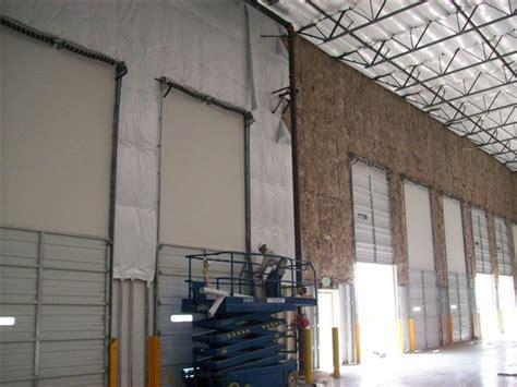 warehouse ceiling foil fiberglass batt insulation installation el segundo ca