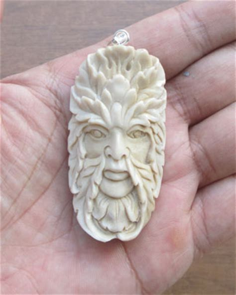 bone wholesale green carved bone pendants for wholesale