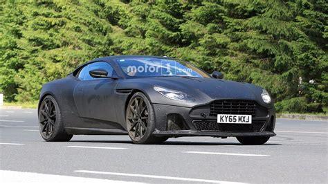Matte Black Aston Martin by Aston Martin Db11 S Spied With Matte Black Lower