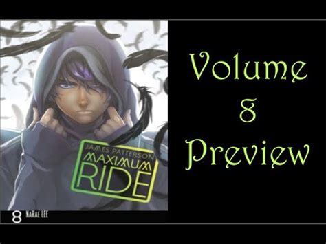 maximum ride 8 maximum ride volume 8 preview and new maximum ride