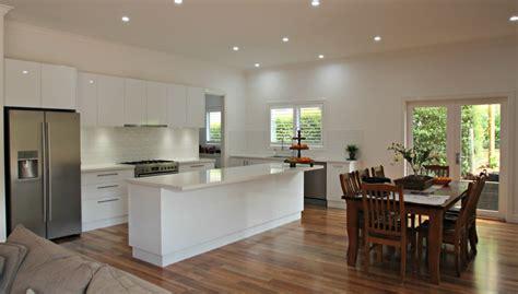 modern kitchen island bench ballarat kitchens custom cabinetry island bench design