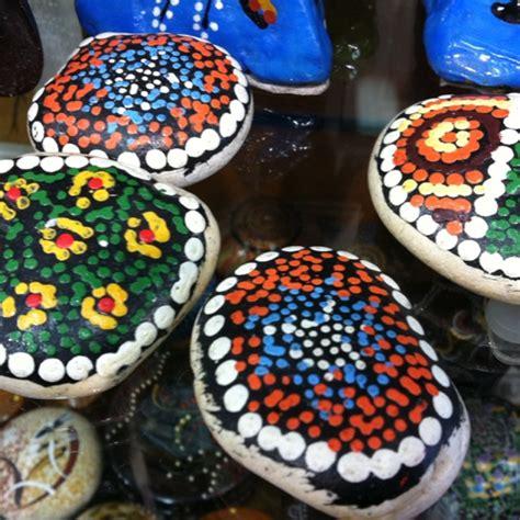 aboriginal crafts for aboriginal dot painting on stones aboriginal work