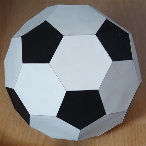 origami football image gallery icosahedron soccer
