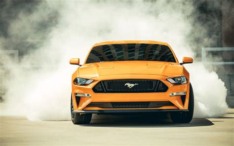Sports Car 4k Wallpaper by 2018 Ford Mustang Gt Fastback Sports Car 4k Wallpapers
