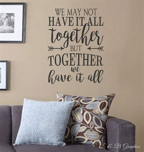 sticker sayings for walls best 25 wall decor quotes ideas on