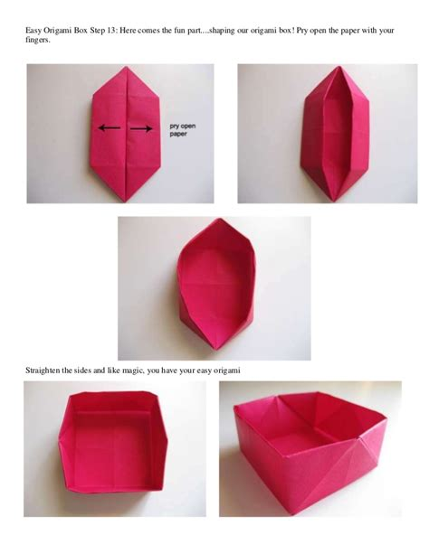 how do you make origami boxes easy origami box step 1