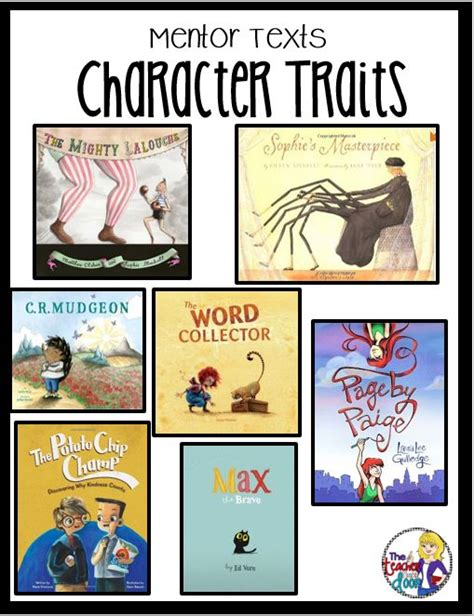 picture books character traits character trait teaching character traits and teaching