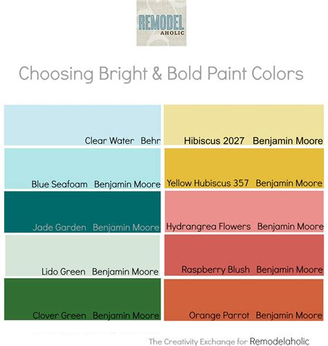 paint colors for remodelaholic tips for using and choosing bold and