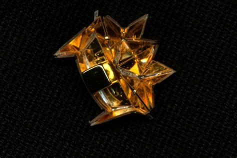 origami robots centimeter origami robot mit news