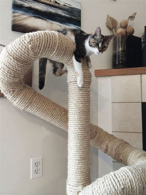 tree with cats sisal cat tree by catastrophicreations on etsy things of