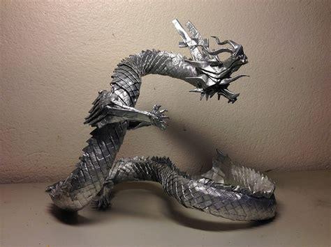 origami ryujin 18 eastern style origami dragons origami me