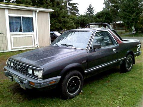 how to fix cars 1986 subaru brat auto manual 1986 subaru brat information and photos momentcar