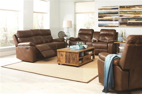 faux leather living room furniture damiano faux leather reclining living room set from