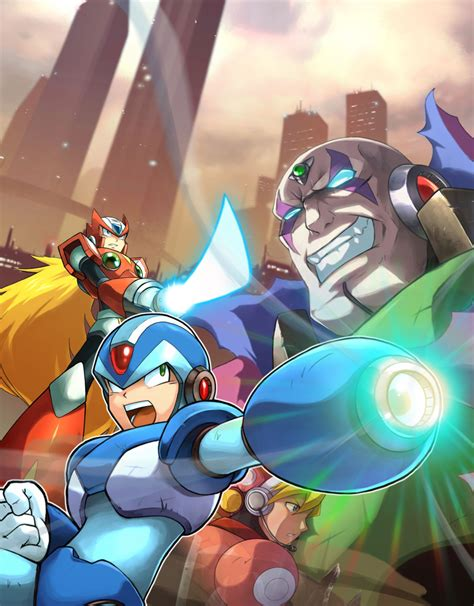 rockman x mega x strength for the fight geeks grace
