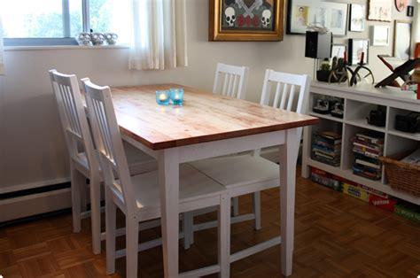 ikea tisch björkudden bj rkudden modern harvest table get home decorating
