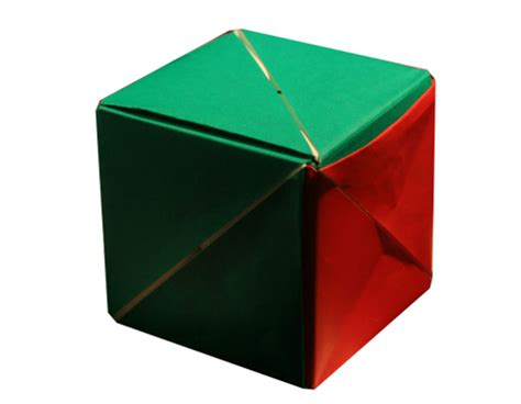 origami magic cube origami magic cube by valerie vann