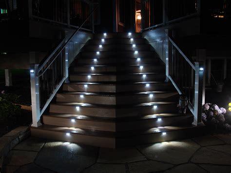 stair lights outdoor illuminating interior exterior stairs i lighting llc