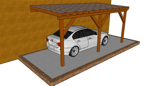 attached carport designs carport designs howtospecialist how to build step by