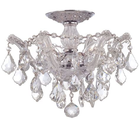 flush mount chandeliers flush mount chandeliers 28 images shade and chrome