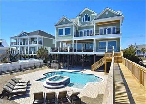 myrtle house rentals with pool oceanfront luxurious oceanfront home with swimming homeaway