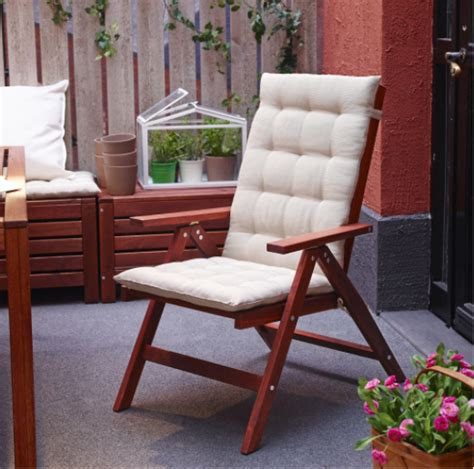 seat pads for outdoor furniture outdoor cushions outdoor furniture ikea