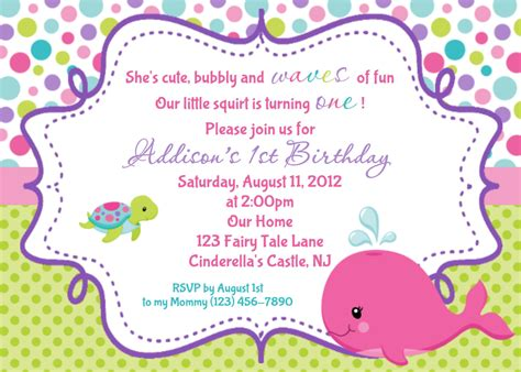 personalized invitations whale birthday invitation personalized by afairytalebeginning