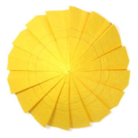 origami sunflower step by step how to make an origami sunflower page 5