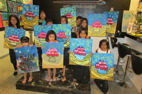 paint nite kid friendly classes paintlv design dine eat drink paint