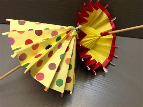 origami umbrella easy daily origami 183 umbrella