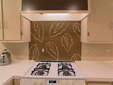 paint kitchen backsplash handpaint a kitchen backsplash hgtv