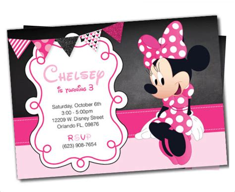 how to make minnie mouse invitation cards awesome minnie mouse invitation template 27 free psd