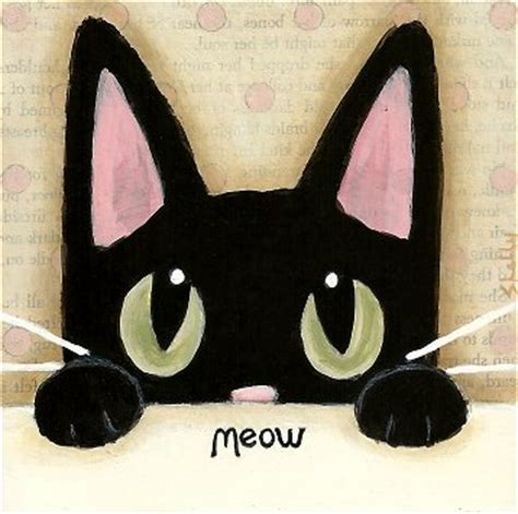 simple cat painting ideas by shelly mundel may 2012