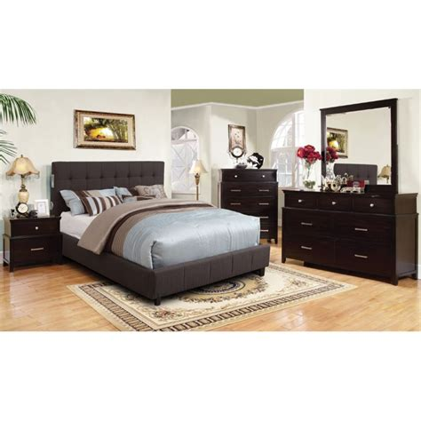 4 bedroom furniture sets furniture of america janata 4 california king