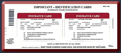make insurance card how to make car insurance cards renewal car