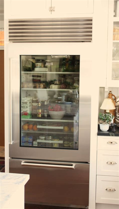 home refrigerator with glass door for the of a house the glass door refrigerator