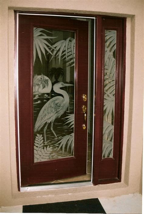 glass door panels doors etched glass etched glass design by premier