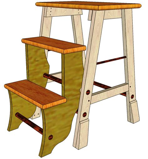 woodworking plans step stool step stool 032 3d woodworking plans