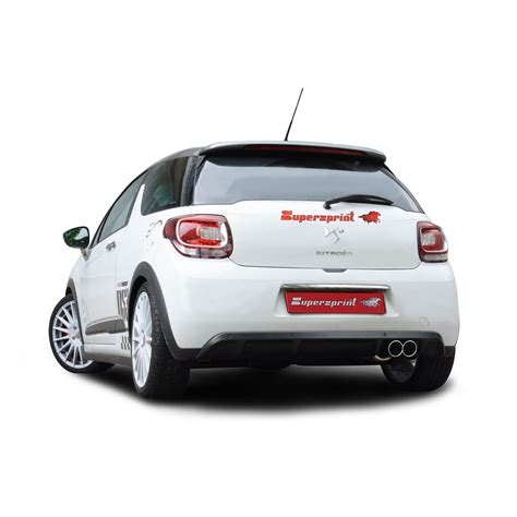 Citroen Racing by Citroen Ds3 Racing 1 6i 16v 203 Hp 2011 Gt Supersprint