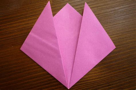 tulip origami step by step origami tulip card favecrafts