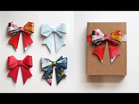 easy origami things paper bow origami easy origami papermade things