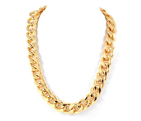 Gold Chain Necklace For Both And