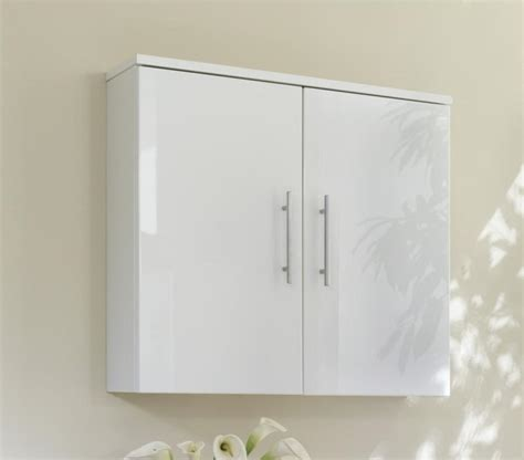 Gloss White Bathroom Cabinets gloss white bathroom wall cabinet home furniture design