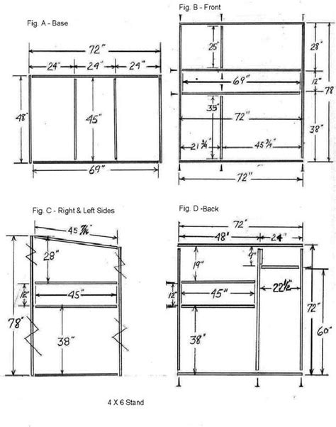 tree stand plans trophy deer stand plans 4x6 pinteres