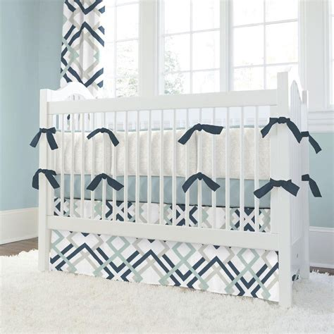and grey crib bedding navy and gray geometric crib bedding carousel designs