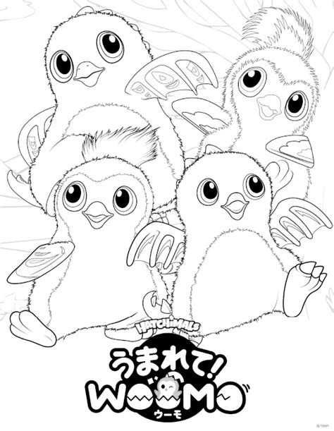 how to color in hatchimals woomo coloring pages get coloring pages