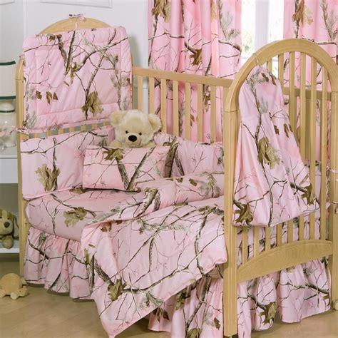 camouflage bedding for cribs pink realtree crib bedding