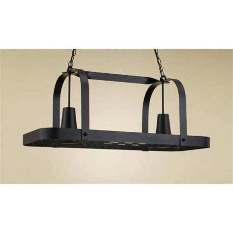 lighted hanging pot racks kitchen baker black leather lighted pot rack hi lite lighted pot