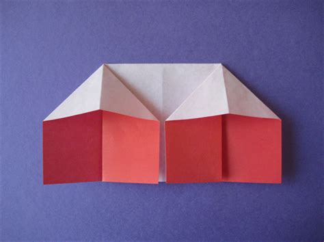origami house how to fold an origami house origami for children