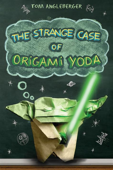 how to fold the cover origami yoda mishaps and adventures evolution of the the strange
